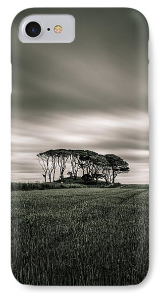 Crawton Copse IPhone Case by Dave Bowman