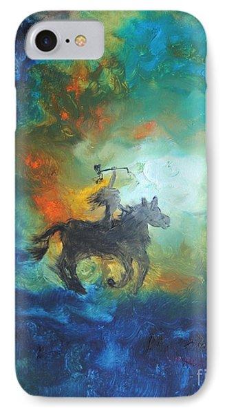 Crazy Horse IPhone Case by Ayasha Loya