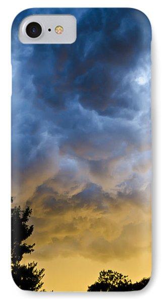 Crazy Storm Clouds IPhone Case