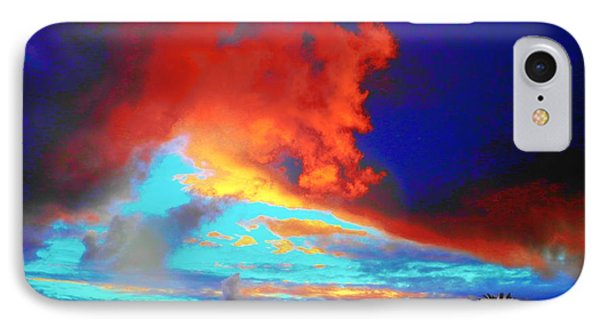 Strange Sunset IPhone Case by Mark Blauhoefer