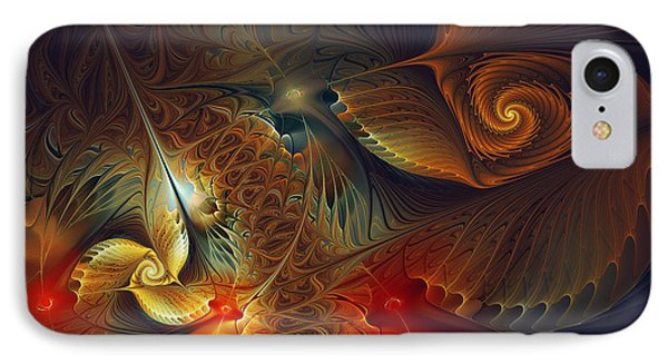 Creation-abstract Fractal Art IPhone Case