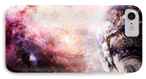 Creation Of Earth IPhone Case