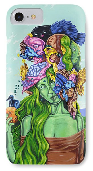 Creation Of Eve Phone Case by Charles Luna