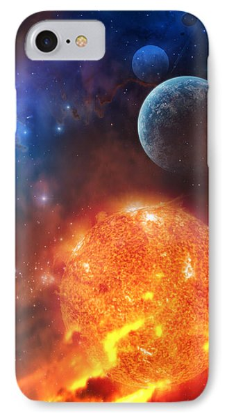Creation IPhone Case by Philip Straub