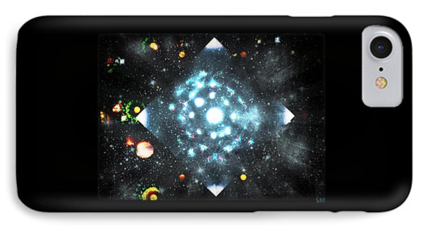 Creation IPhone Case by Sherry Flaker