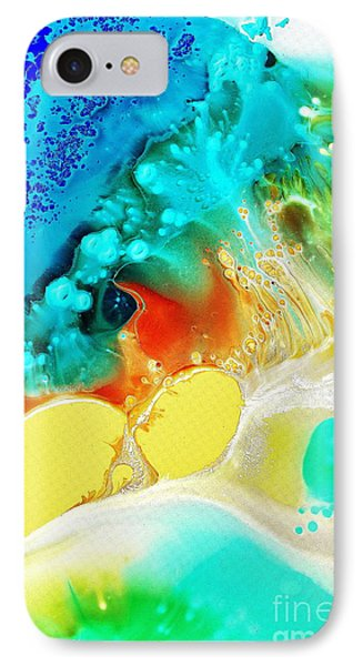 IPhone Case featuring the painting Creation Wave by Christine Ricker Brandt
