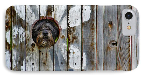 Creative Dog Fence IPhone Case