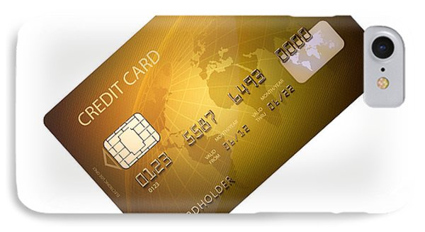 Credit Card Phone Case by Johan Swanepoel