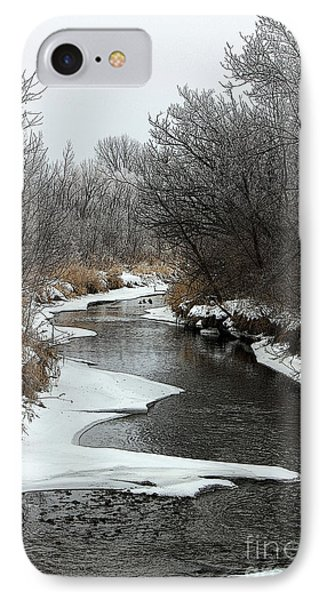 IPhone Case featuring the photograph Creek Mood by Debbie Hart