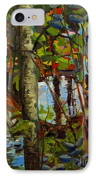 Creek Walking IPhone Case by Charlie Spear