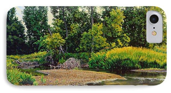 Creek's Bend Phone Case by Bruce Morrison