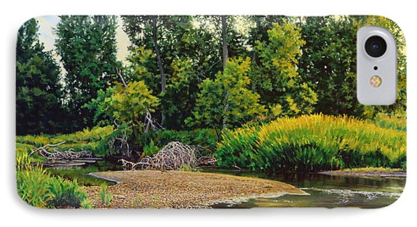 Creek's Bend IPhone Case by Bruce Morrison
