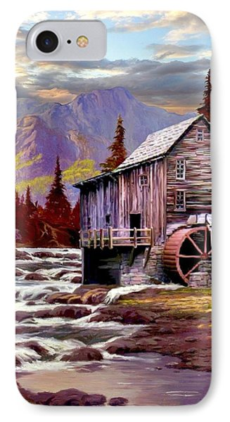 Creekside Mill IPhone Case by Ron Chambers
