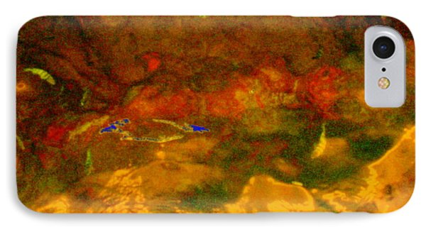 Creekwater Abstract 3 IPhone Case by Deborah  Crew-Johnson