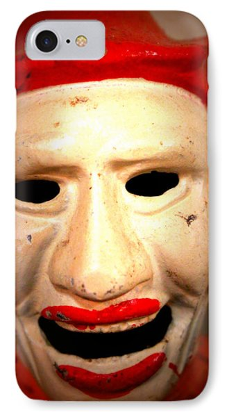 Creepy Clown IPhone Case by Lynn Sprowl