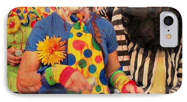 Creepy Clowns Phone Case by Lilliana Mendez