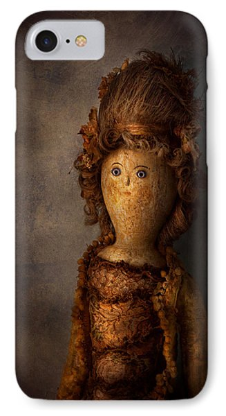 Creepy - Doll - Matilda Phone Case by Mike Savad