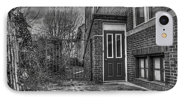 Creepy Gate Phone Case by Tim Buisman