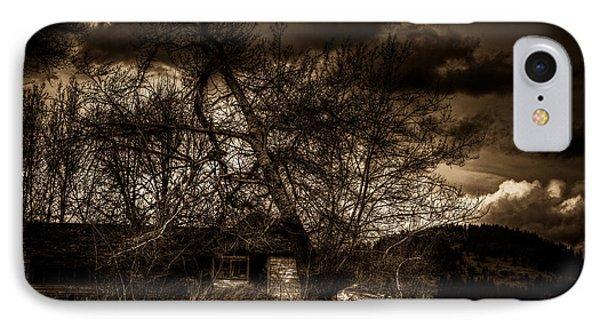Creepy House One IPhone Case by Derek Haller