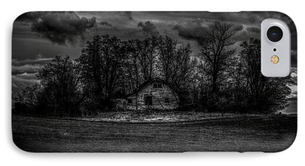Creepy House Two Phone Case by Derek Haller
