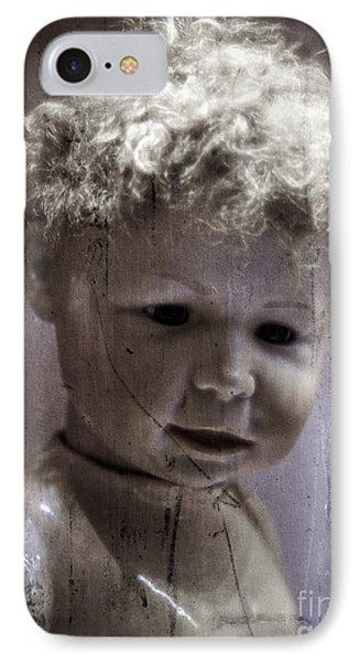 Creepy Old Doll Phone Case by Edward Fielding
