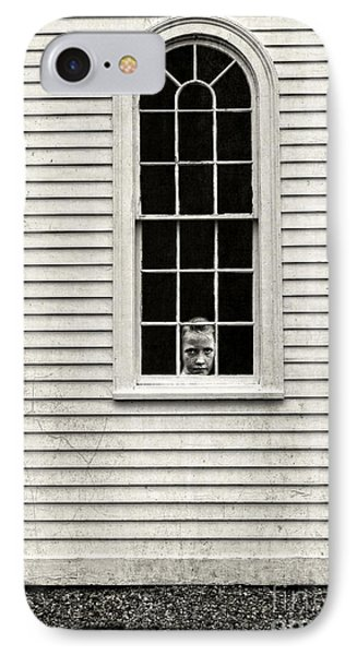 Creepy Victorian Girl Looking Out Window IPhone Case