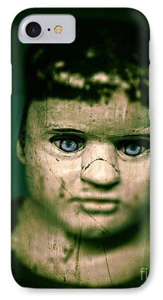 Creepy Zombie Child IPhone Case by Edward Fielding