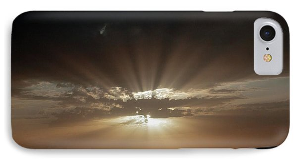 Crepuscular Rays IPhone Case