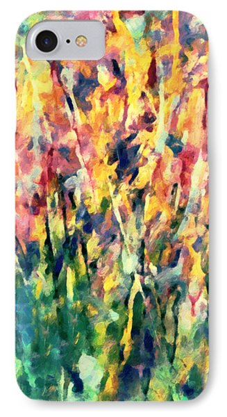 Crescendo Of Spring Abstract IPhone Case