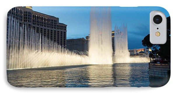 Crescendo - The Glorious Fountains At Bellagio Las Vegas Phone Case by Georgia Mizuleva