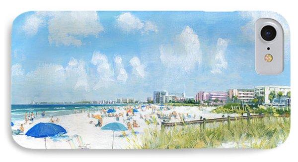 Crescent Beach On Siesta Key Phone Case by Shawn McLoughlin