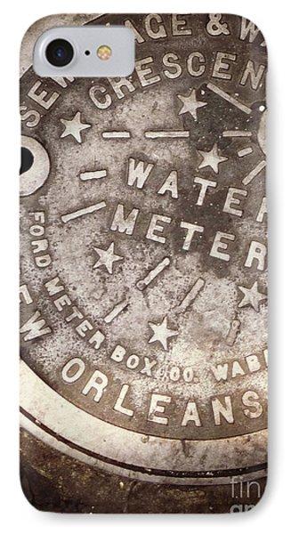 Crescent City Water Meter IPhone Case