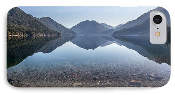 Crescent Lake Reflection Phone Case by Pierre Leclerc Photography