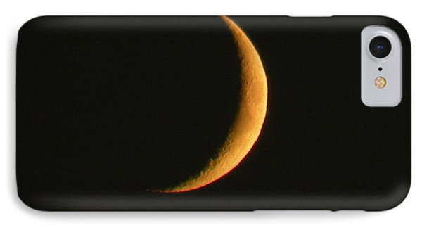 Crescent Moon IPhone Case by Brian Chase