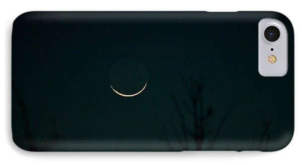 Crescent Moon Phone Case by Jessica Brown