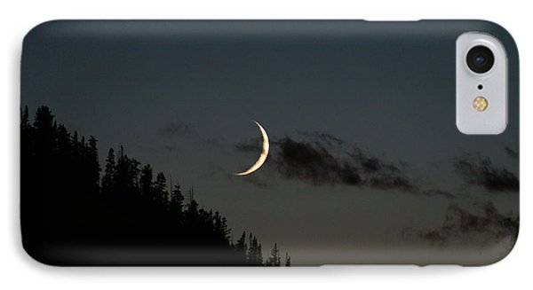 IPhone Case featuring the photograph Crescent Silhouette by Jeremy Rhoades