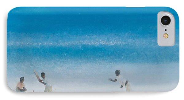 Cricket On The Beach, 2012 Acrylic On Canvas IPhone 7 Case