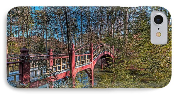 IPhone Case featuring the photograph Crim Dell Bridge by Jerry Gammon