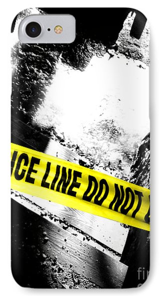 Crime Scene IPhone Case