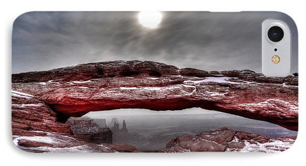 IPhone Case featuring the photograph Crimson Arch by David Andersen