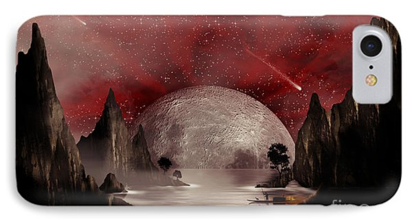 Crimson Night IPhone Case by Anthony Citro