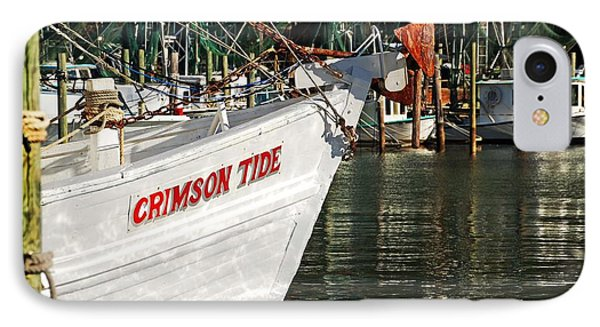 Crimson Tide Bow Phone Case by Michael Thomas