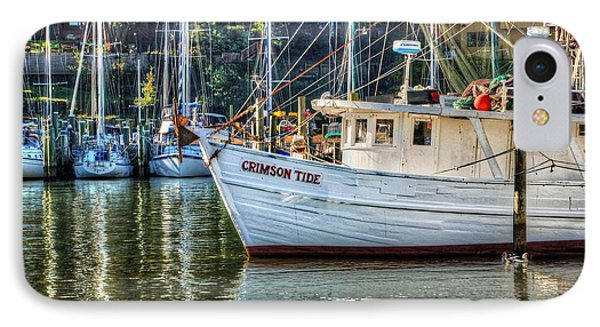 Crimson Tide In The Sunshine Phone Case by Michael Thomas