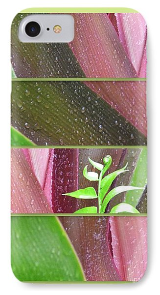 IPhone Case featuring the photograph Crinum Lily Collage2 by Darla Wood