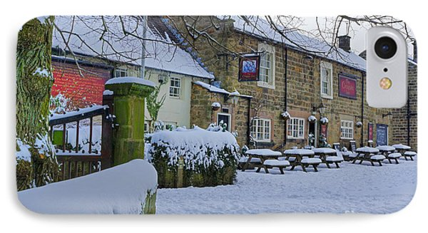 Crispin Inn At Ashover Phone Case by David Birchall