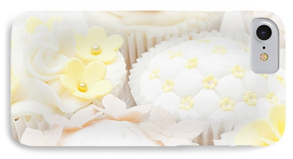 Criss-cross Cupcake Phone Case by Anne Gilbert