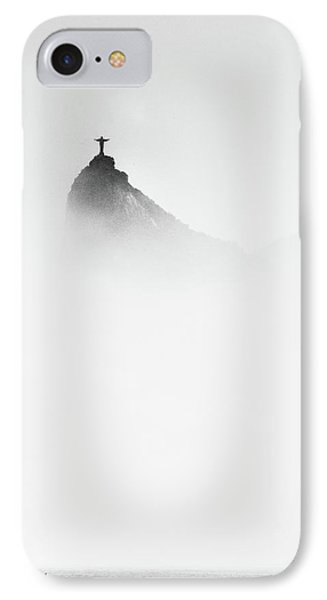 Cristo In The Mist IPhone Case