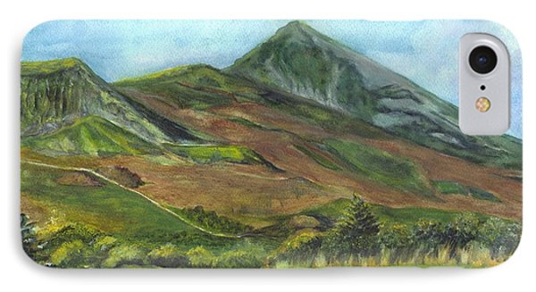 Croagh Saint Patricks Mountain In Ireland  IPhone Case by Carol Wisniewski