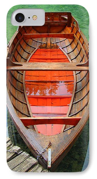 IPhone Case featuring the photograph Croatian Rowboat by Ramona Johnston