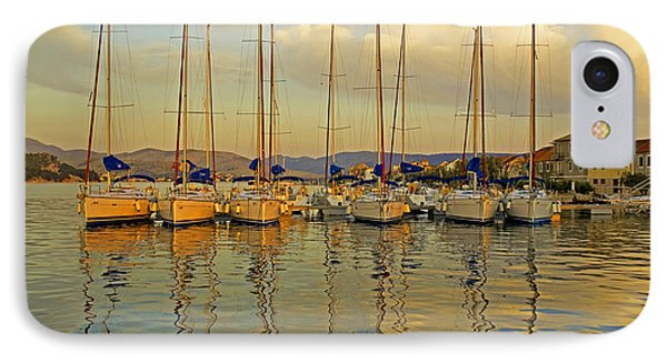 Croatian Sailboats IPhone Case